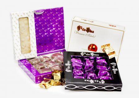 Paquete amantes del chocolate Mazapanes García de Blas