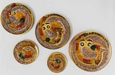 Anguilas de mazapán elaboradas a mano